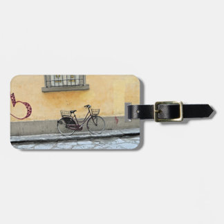 Bicycle in Florence Tag For Luggage
