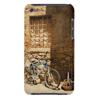 Bicycle in front of a wall, Monteriggioni, Siena Barely There iPod Cover