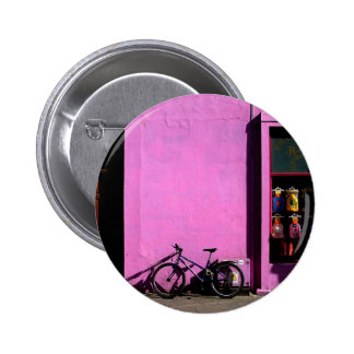 Bicycle in Tralee Ireland Buttons