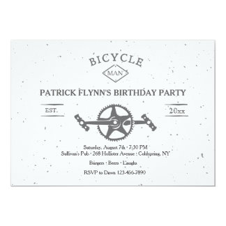 Bicycle Invitation