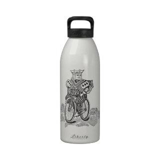 Bicycle® Joker King on a Bike Water Bottles