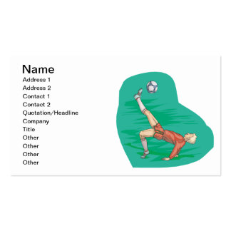 Bicycle Kick Business Card