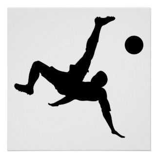 Bicycle Kick Print