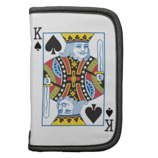 Bicycle® King of Spades Folio Planner