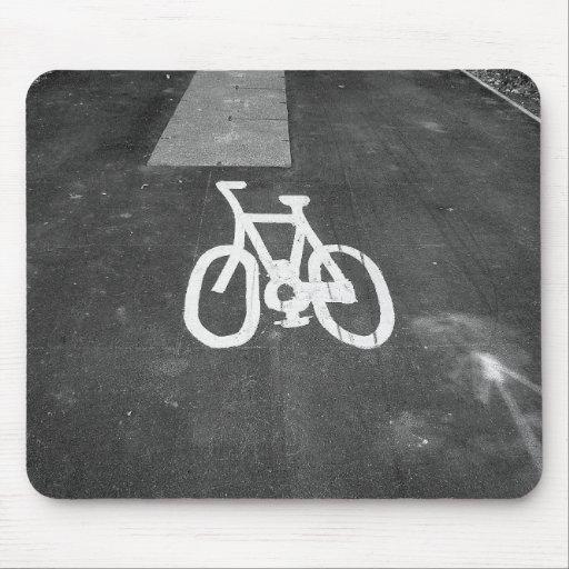 Bicycle Lane Mouse Pads