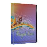 Bicycle Love 1 iPad Folio Case Options