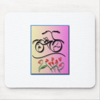 Bicycle Love Mouse Pad