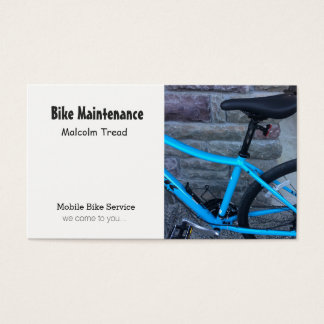 Bicycle Maintenance Business Card