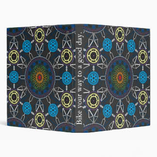 Bicycle Mandala Array Binder 1