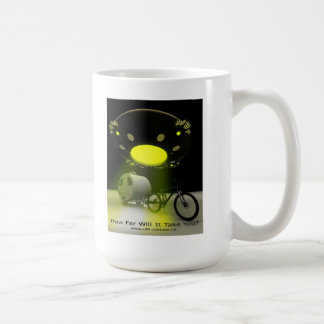 Bicycle Mini Camper Mark II Design UFO Promo 2 Coffee Mug