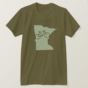 Beach Themed Bicycle Minnesota t-shirt
