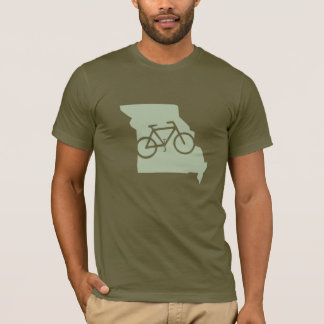 Bicycle Missouri t-shirt