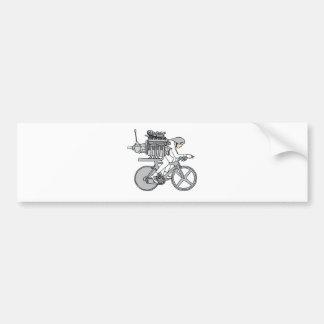 Bicycle Motoring Bumper Sticker