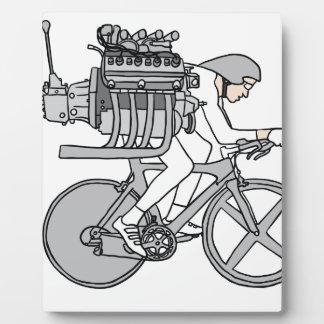Bicycle Motoring Plaque