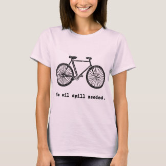 Bicycle:  No Oil Spill Needed Tshirts and Mugs