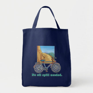 Bicycle:  No Oil Spill Needed Tshirts and Mugs Canvas Bag