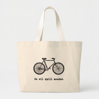 Bicycle:  No Oil Spill Needed Tshirts and Mugs Canvas Bags