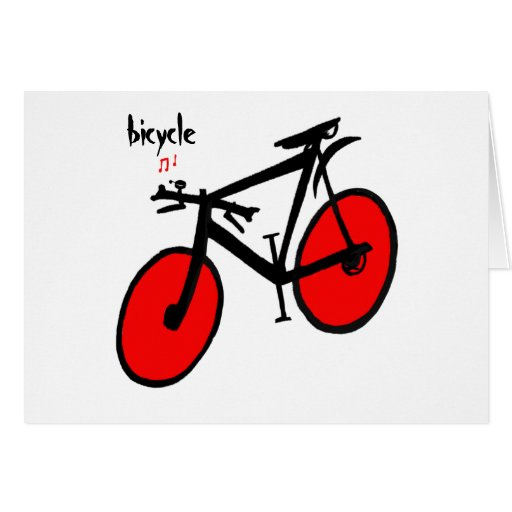 Bicycle Note Card