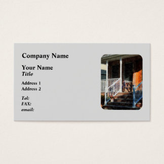 Bicycle on Porch Business Card