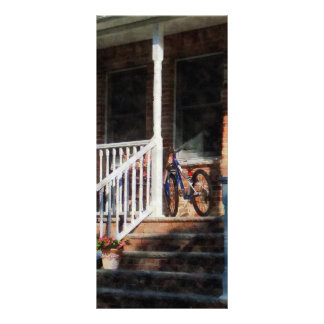 Bicycle on Porch Rack Card