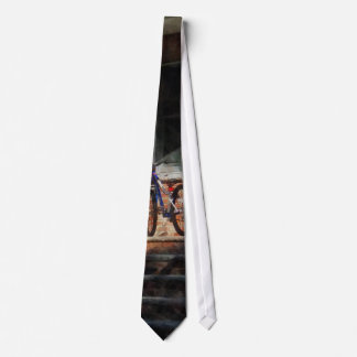 Bicycle on Porch Tie