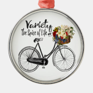 bicycle  ornament Variety is the spice of life