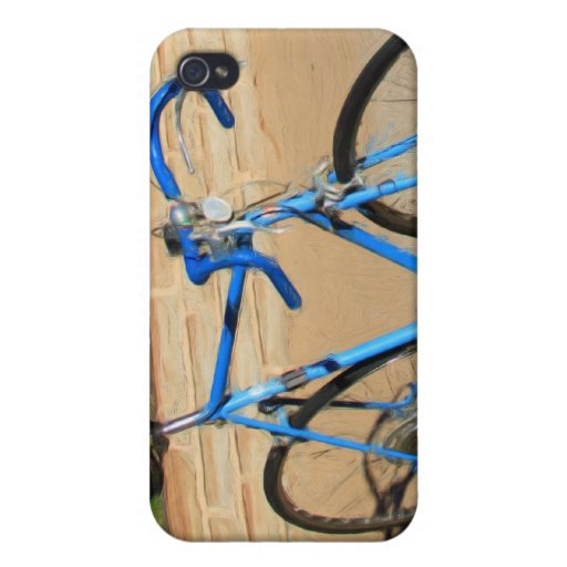 Bicycle Painting iPhone Case Cases For iPhone 4