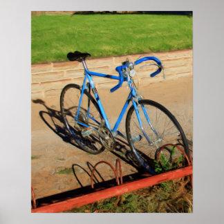 Bicycle Painting Print