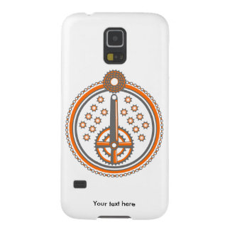 Bicycle Parts Illustration Galaxy S5 Case