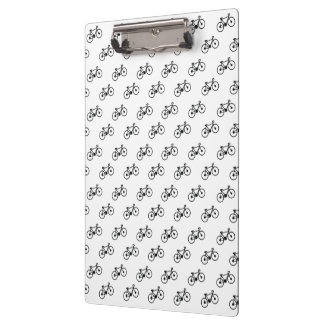 Bicycle Pattern Clipboard