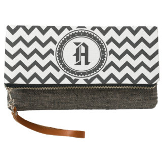Bicycle Pattern Clutch