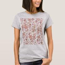 Bicycle Pattern (RB) T-Shirt