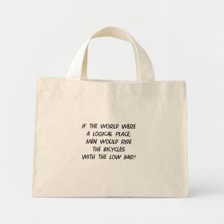 Bicycle Philosophy Mini Tote Bag