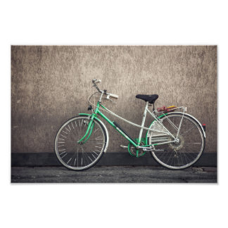 bicycle photo print