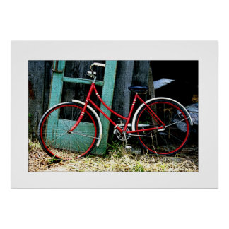 """Bicycle"" Photographic Art Print"