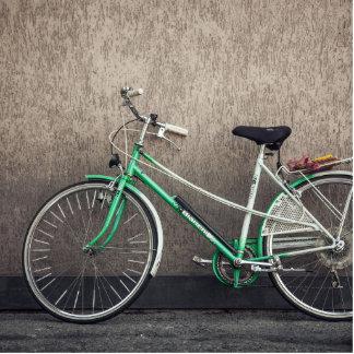 bicycle photo sculptures