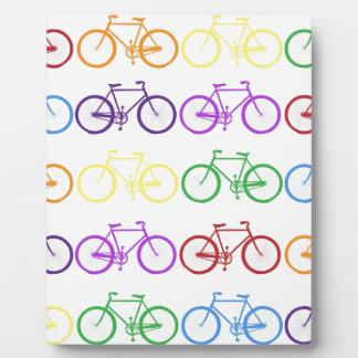 bicycle photo plaque