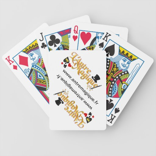 BICYCLE PLAYING CARDS PERSONALISED