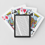 Bicycle Playing Cards, Photo Template