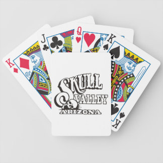 Bicycle Playing Cards w/ Skull Valley, Arizona