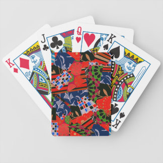 Bicycle Playing Cards with Brilliant Collage