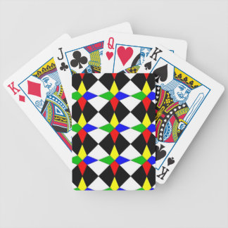 Bicycle Playing Cards with kite Quilt pattern