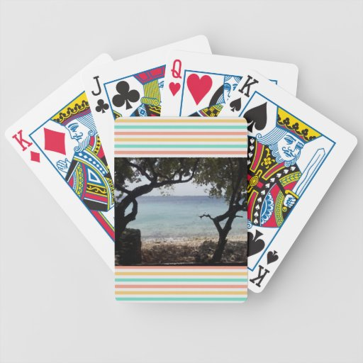 Bicycle® Poker Beach Playing Cards Bicycle Card Deck