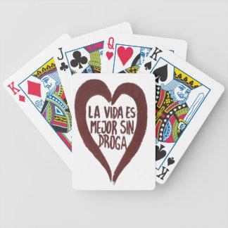 Bicycle® Poker Cards Amour#1 Baraja De Cartas