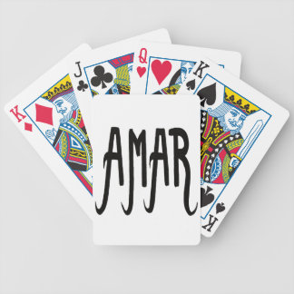 Bicycle® Poker Cards Amour#2 Barajas