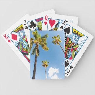 Bicycle® Póquer Cards Palmeras Barajas