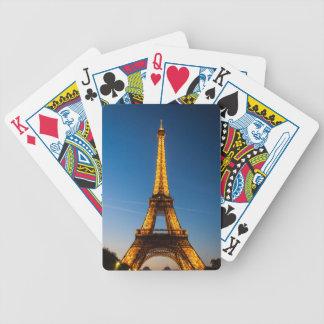 Bicycle® Póquer Cards París - Torre Eiffel #1 Barajas