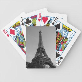 Bicycle® Póquer Cards París - Torre Eiffel #4 Baraja Cartas De Poker