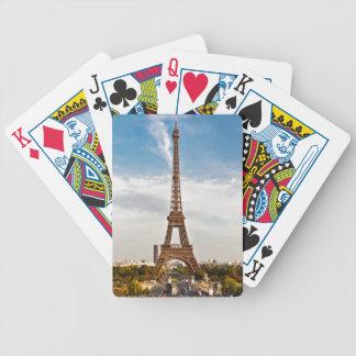 Bicycle® Póquer Cards París - Torre Eiffel #8 Baraja
