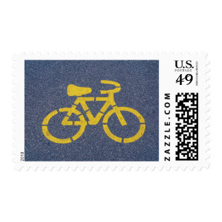 Bicycle postage stamps